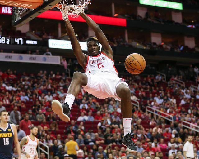 Capela dispute sa 4e saison en NBA. [Troy Taormina - Reuters]