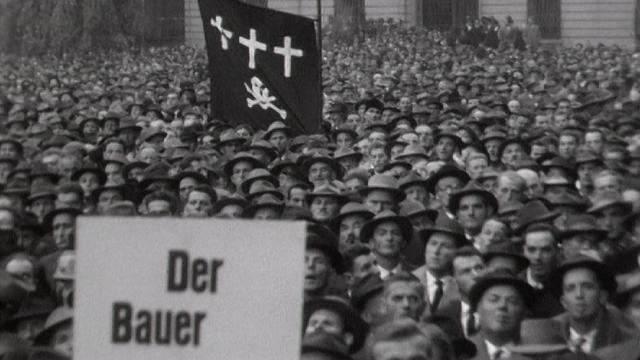 Manifestation paysanne à Berne. [RTS]