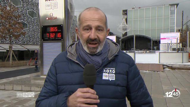 Les Jeux olympiques de la jeunesse débuteront dans un an à Lausanne: Ian Logan détaille l'évolution des préparatifs [RTS]