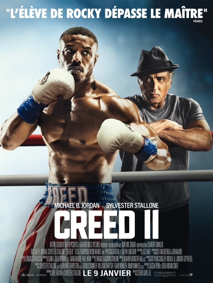 "L'affich du film ""Creed II""."
