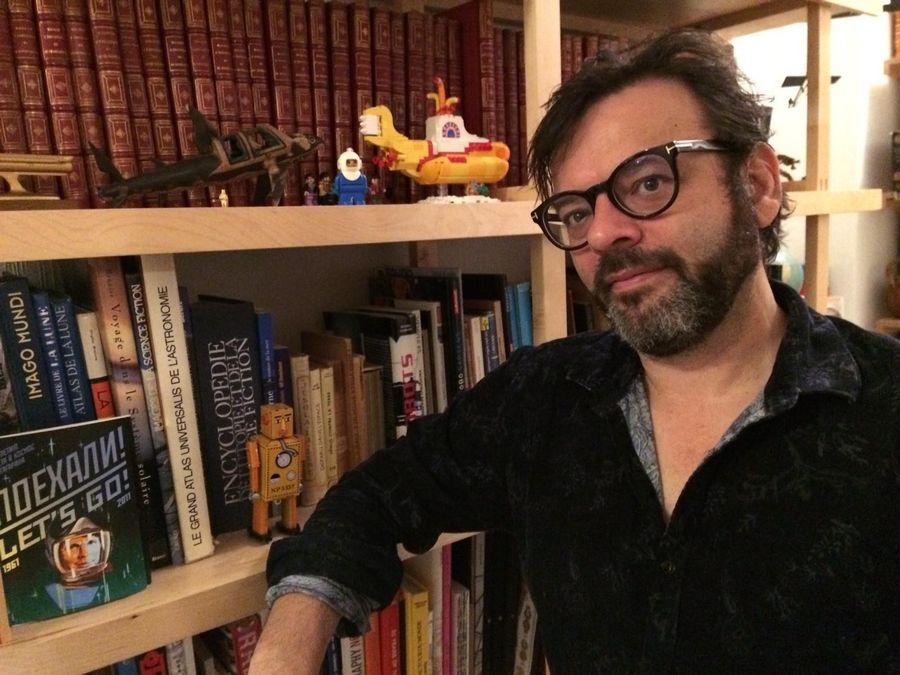 Le metteur en scène, réalisateur et musicien lausannois Christian Denisart.