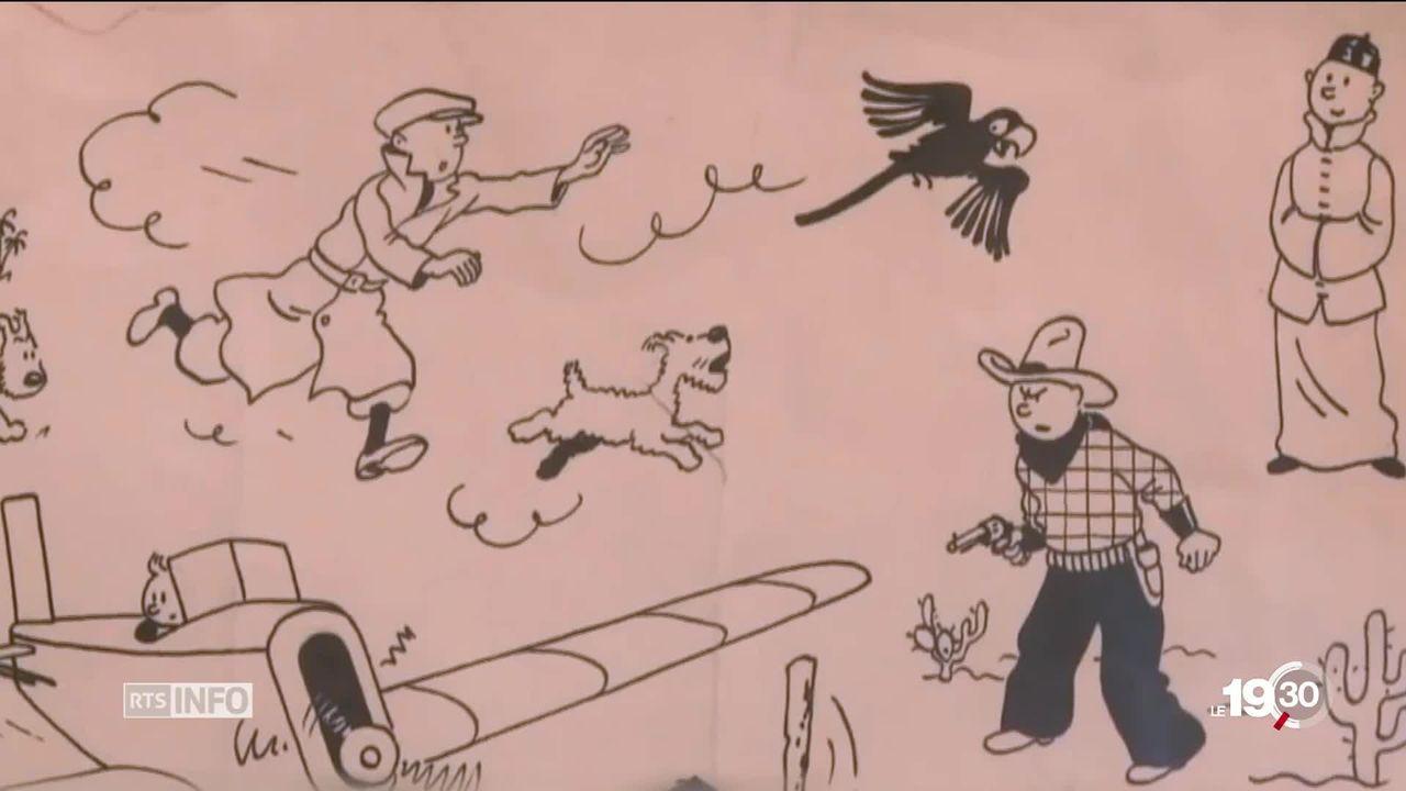 Tintin fête ses 90 ans et fait toujours recette dans le monde entier [RTS]