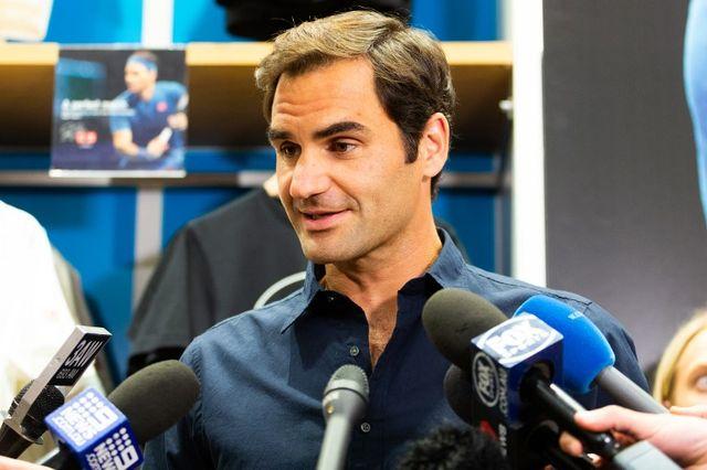 Roger Federer en découdra avec Denis Istomin au 1er tour à Melbourne. [Asanka Brendon Ratnayake - AFP]
