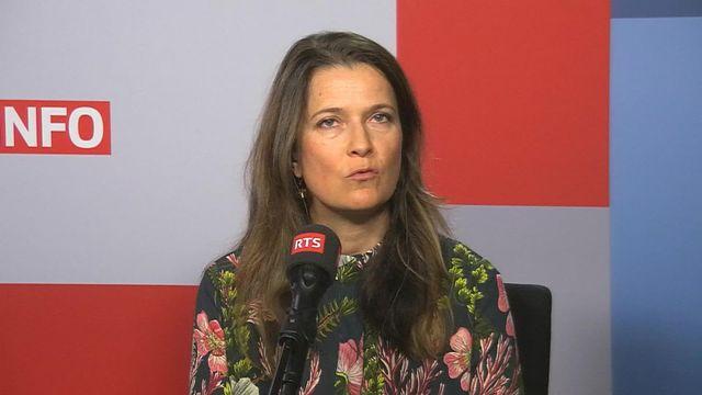 Anne-Laure Martin parle du don d'organe en pédiatrie (vidéo) [RTS]