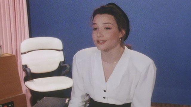 Cathy Sommer, engagée comme speakerine à la TSR en 1988. [RTS]