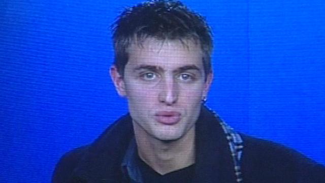 Le speaker Sébastien Rey [TSR 2002]