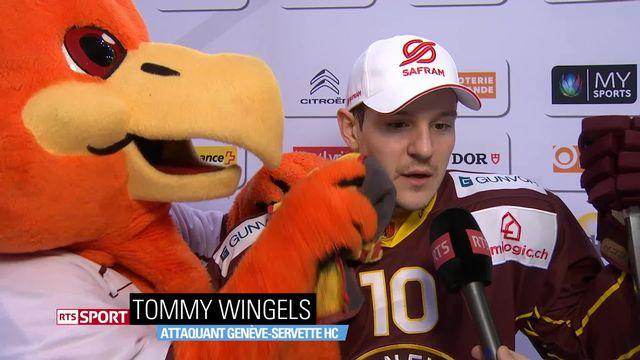 National League: Genève-Lugano 6-3. Le triplé du Genevois Tommy Wingels (Sport Dernière du 5 janvier 2019) [RTS]