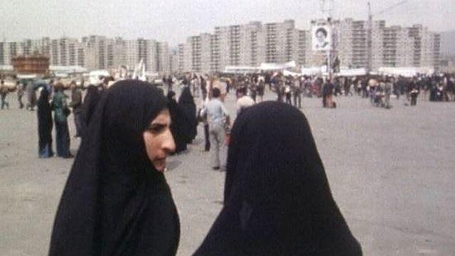 Femmes à Téhéran en 1979. [RTS]