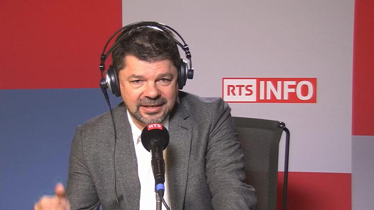 Interview de Jean-Paul Felley, directeur de l'EDEH A en Valais (vidéo) [RTS]