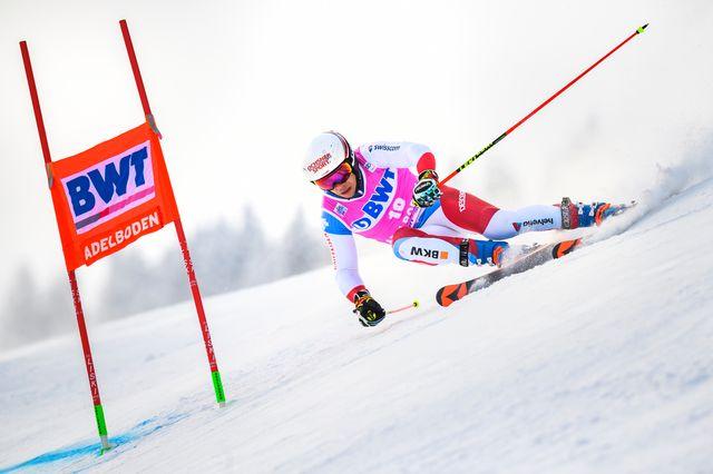 Caviezel est le meilleur suisse de cette première manche. [Jean-Christophe Bott - Keystone]