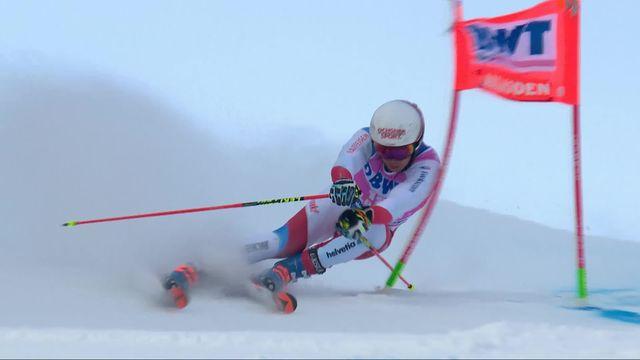 Adelboden (SUI), Géant messieurs, 1re manche: Gino Caviezel (SUI) [RTS]