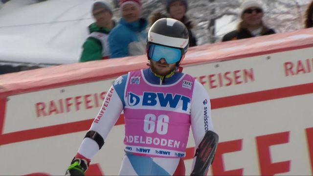 Adelboden (SUI), Géant messieurs, 1re manche: Marco Reymond (SUI) ne sera pas en seconde manche [RTS]