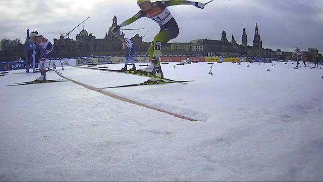 Dresde (GER), sprint dames: pas de ½ finale pour Laurien Van der Graaff (SUI) [RTS]