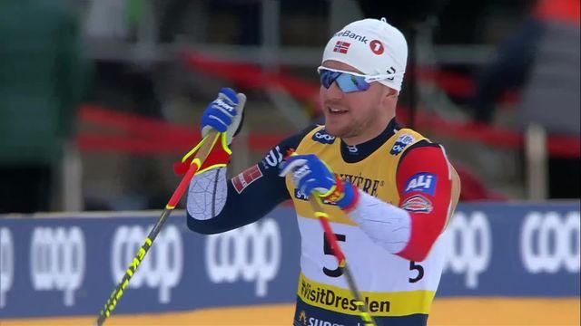 Dresde (GER), sprint messieurs: victoire du Norvégien Skar devant Retivykh (RUS) et son compatriote Valnes [RTS]