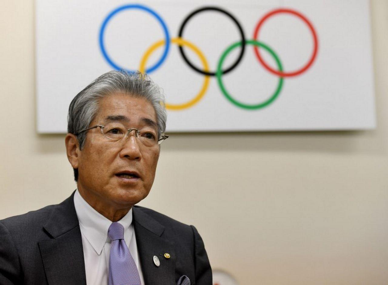 Tsunekazu Takeda est soupçonné de corruption. [Toshifumi Kitamura - AFP]