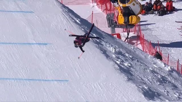 Ski Freestyle: Victoire de Sarah Höfflin en coupe du Monde [RTS]