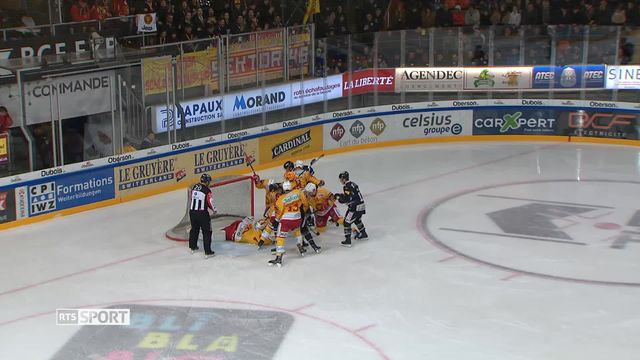 Hockey: 35e journée, Langnau - Fribourg [RTS]