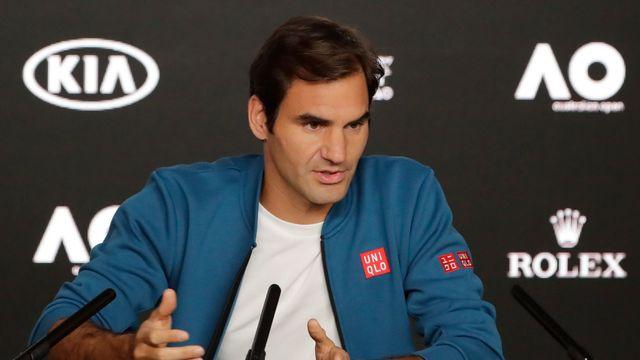 Roger Federer entamera la défense de ses titres lundi face à Denis Istomin. [Mast Irham - Keystone]