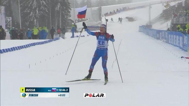 Oberhof (ALL), relais dames: victoire des Russes [RTS]