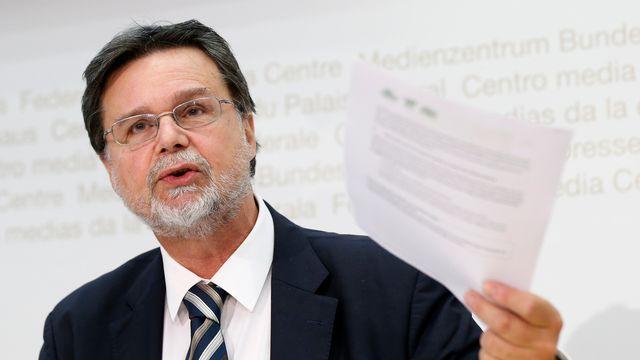 Robert Cramer, conseiller aux Etats (Verts/GE). [Peter Klaunzer - Keystone]