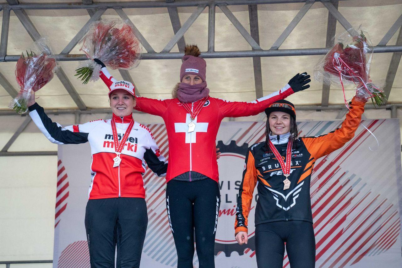 Jolanda Neff a survolé les Championnats de Suisse. [Maxime Schmid - Keystone]
