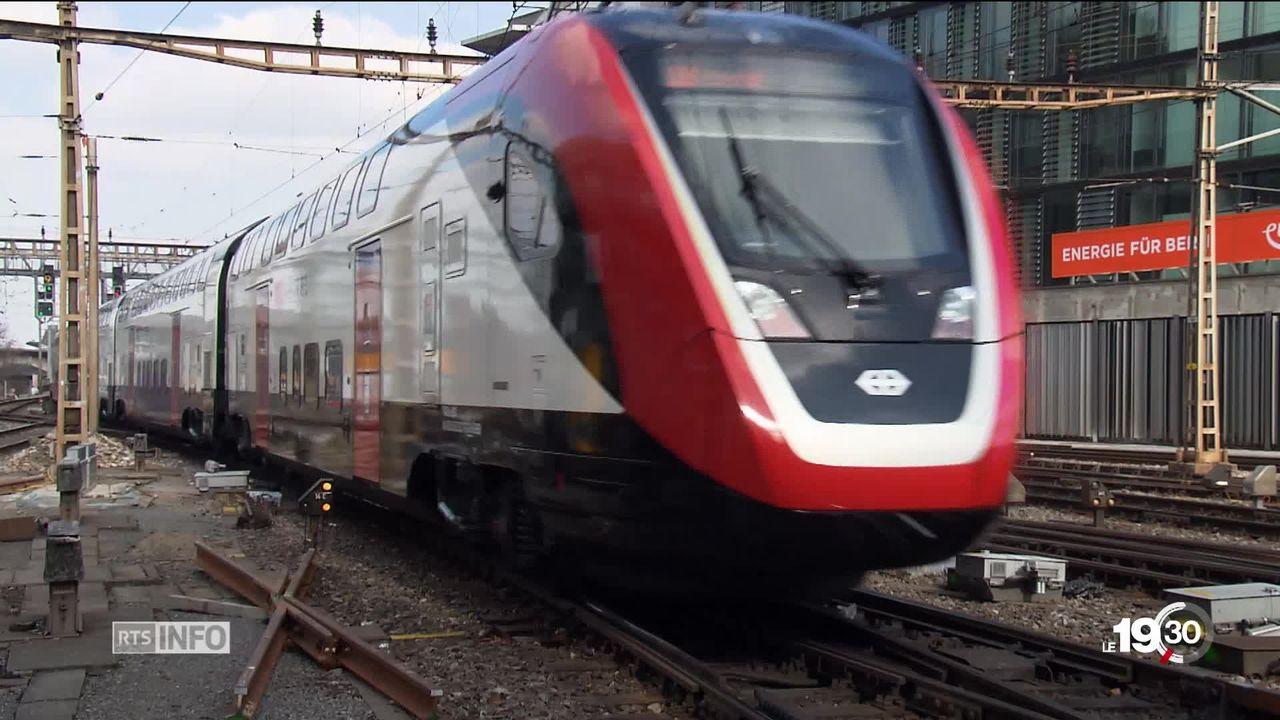 Trains Bombardier: un conseiller national dévoile les pénalités secrètes réclamées au constructeur pour le retard. [RTS]