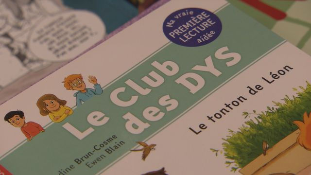 """Edité par Flammarion, """"Le club des dys"""" compte 4 titres.  [RTS]"""