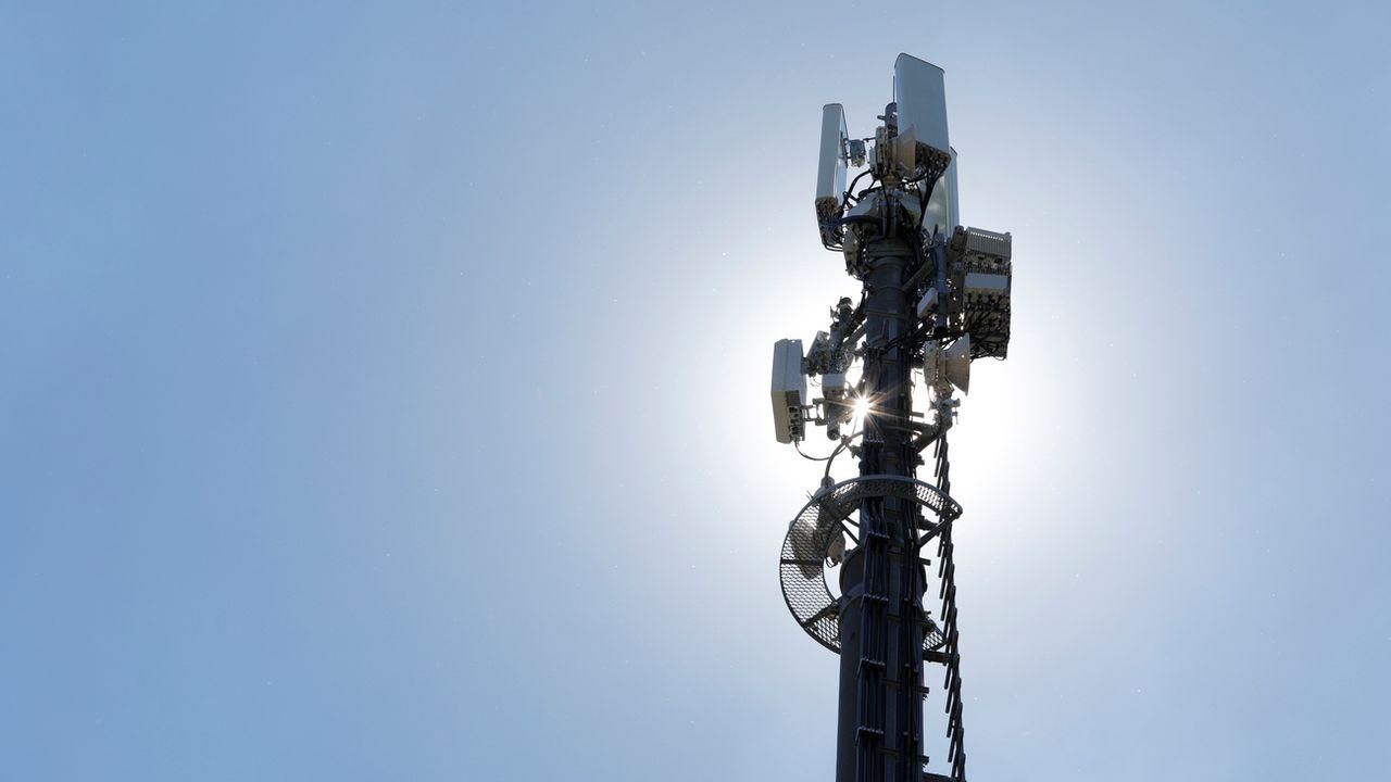 En juin 2018, Sunrise a mis en service la première antenne 5G de Suisse. [PPR Aladin Klieber - Keystone]