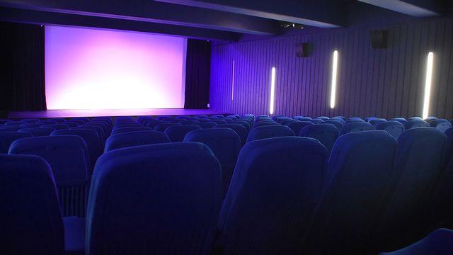 La nouvelle salle de cinéma de Porrentruy. [Gaël Klein - RTS]