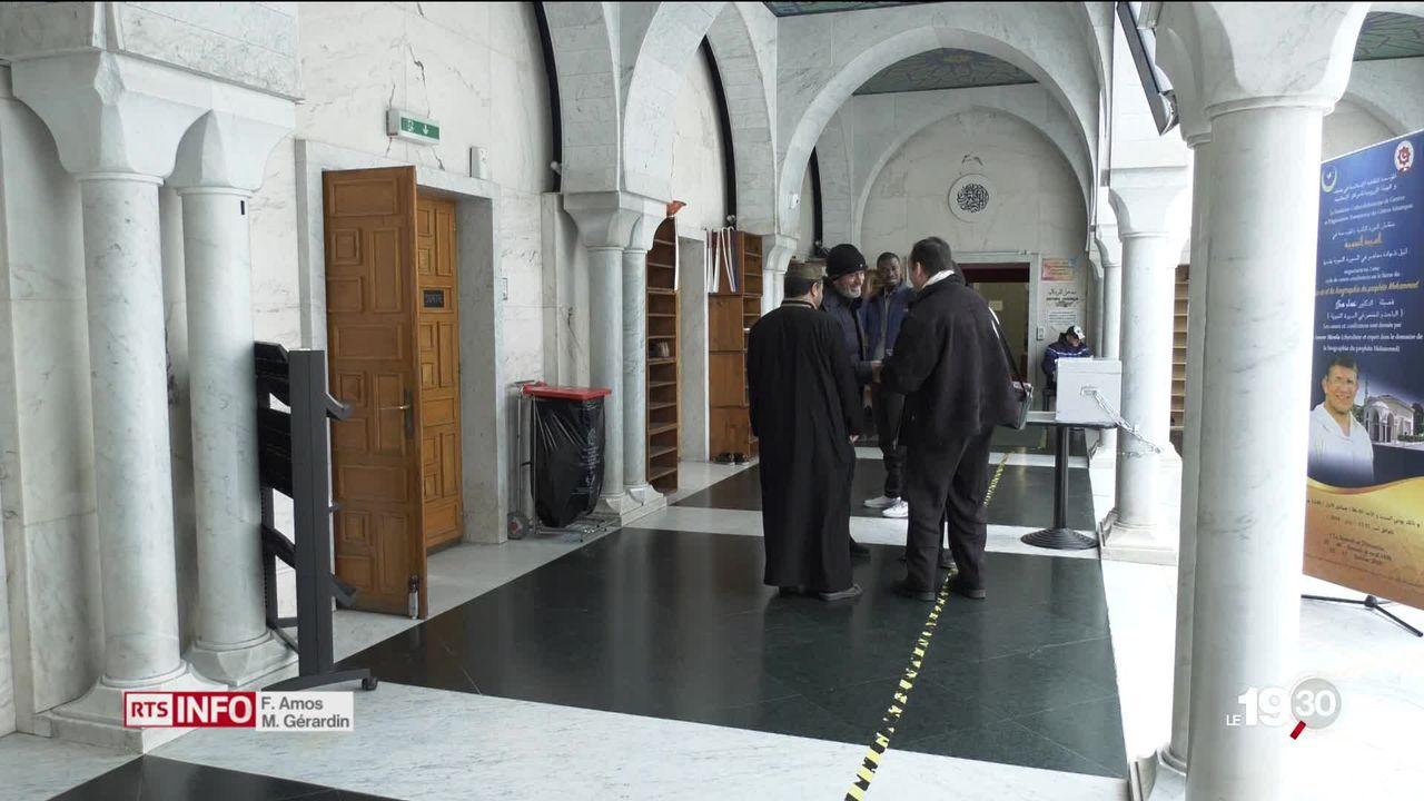 Mosquée genevoise du Petit-Saconnex est dans la tourmente. Suite aux meurtres de djihadistes au Maroc, la direction s'exprime. [RTS]