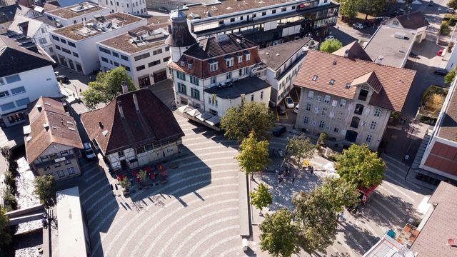 Langenthal reçoit le prix Wakker 2019. [Gaetan Bally - Keystone]