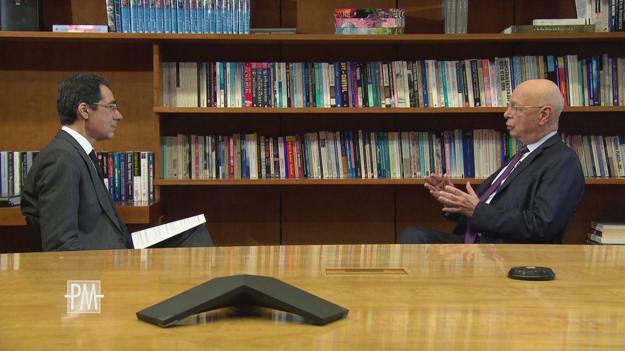 Klaus Schwab fait de la moralisation un des thèmes du WEF [RTS]