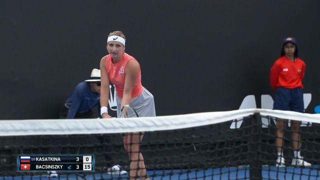 Tennis, Open d'Australie, Résumé de la journée [RTS]