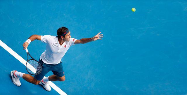 Roger Federer, Open d'Australie, 16 janvier 2019. [Lynn Bo Bo - Keystone]