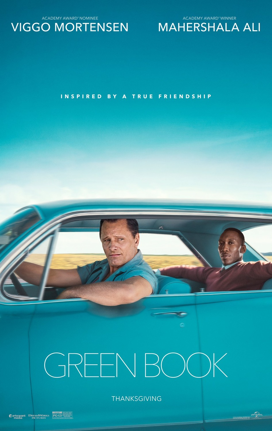 "L'affiche du film ""Green Book""."