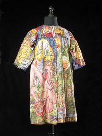 Un vêtement de Helga Goetze.