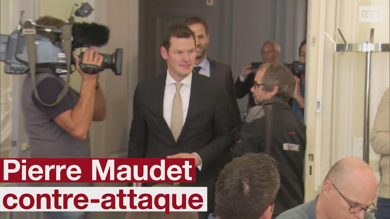Pierre Maudet attaque les procureurs en charge de son affaire [RTS]