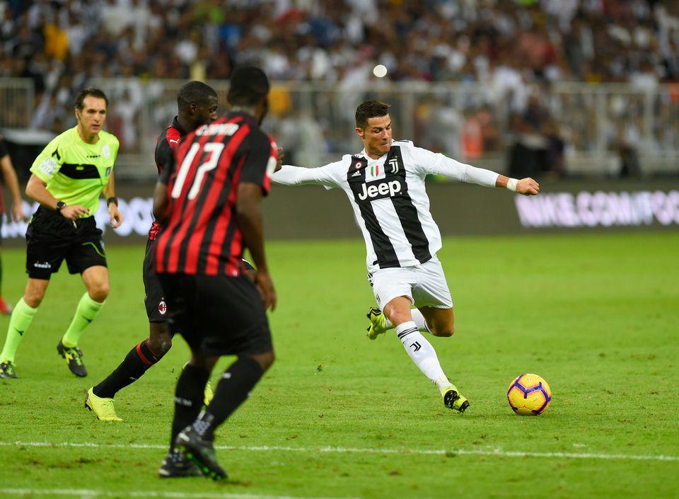 Cristiano Ronaldo a marqué l'unique but de la rencontre. [Keystone]