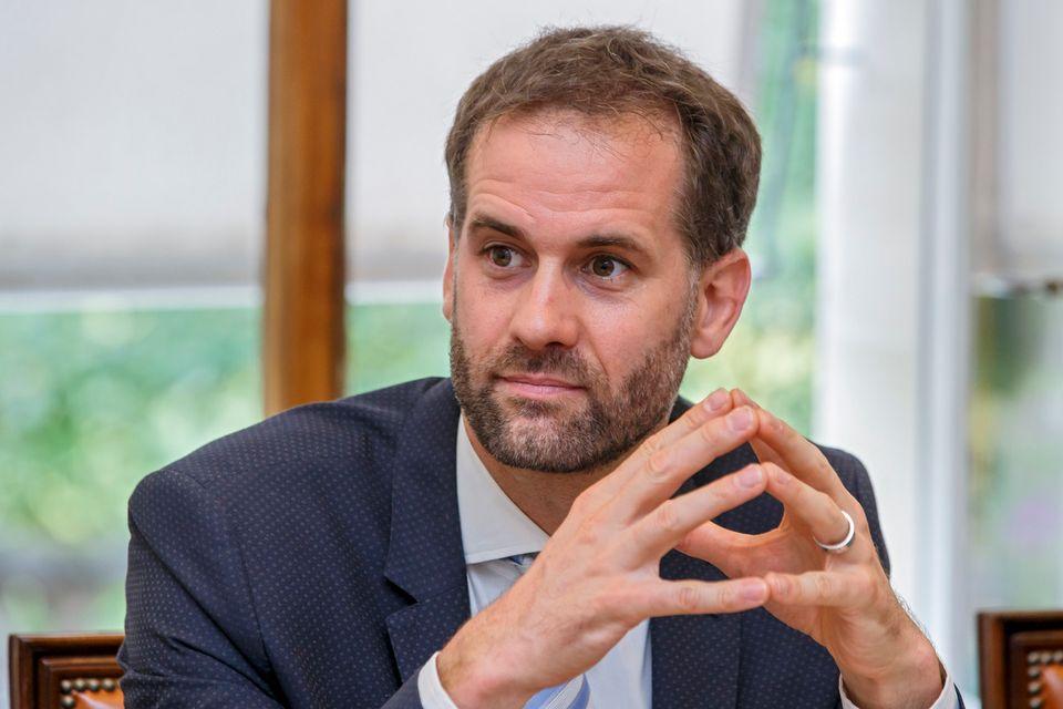 Le président du Conseil d'Etat Antonio Hodgers, photographié ici en décembre 2018. [Salvatore Di Nolfi - Keystone]