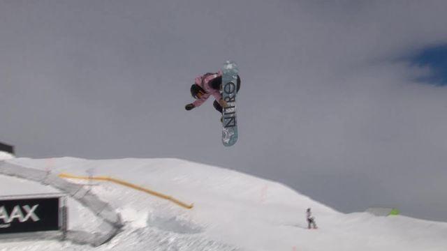 Laax (SUI), snowboard slopestyle dames: Celia Petrig (SUI) passe les demi-finales [RTS]