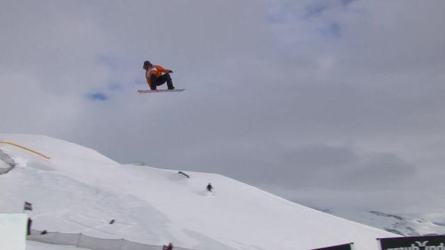 Laax (SUI), snowboard slopestyle dames: Sina Candrian (SUI) qualifiée pour la finale [RTS]