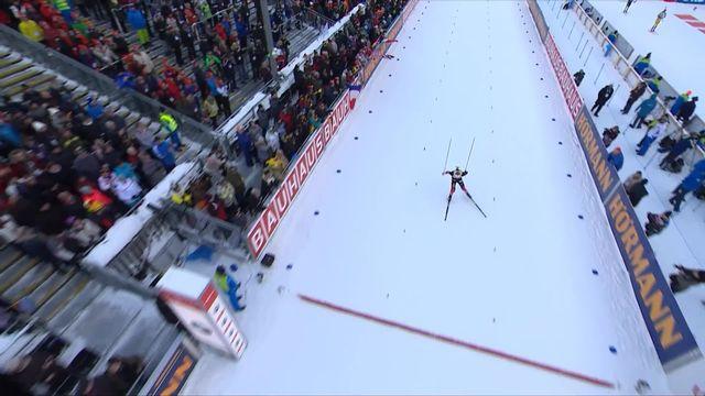 Ruhpolding (GER), sprint messieurs: encore une victoire pour le Norvégien Johannes Boe. Benjamin Weger (SUI) 11ème [RTS]