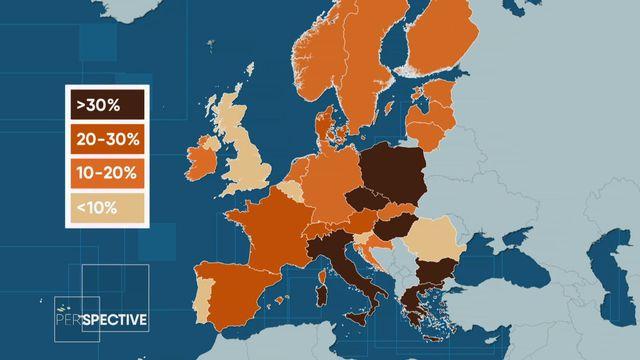 En Europe, les votes en faveur des partis populistes ont triplé en 20 ans [RTS]