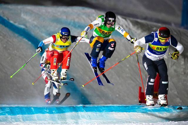 Coupe du monde Skicross [Gian Ehrenzeller - Keystone]