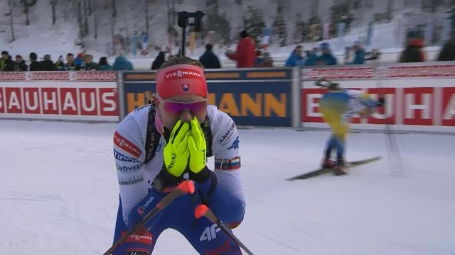 Ruhpolding (GER), sprint dames: Anastasiya Kuzmina (SVK) s'impose devant Vittozzi (ITA) et Oeberg (SWE) [RTS]