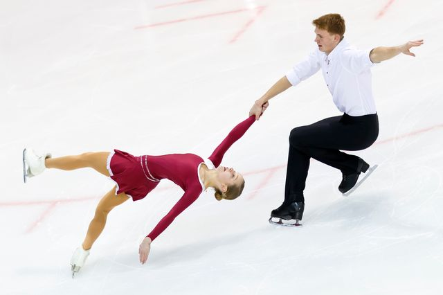 Patinage artistique, championnats d'Europe,  libre danses, Moscou [Valentin Flauraud - Keystone]
