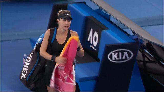 3e tour, P.Kvitova (CZE) – B. Bencic (SUI) 6-1, 6-4: rien à faire pour Bencic face à Kvitova [RTS]