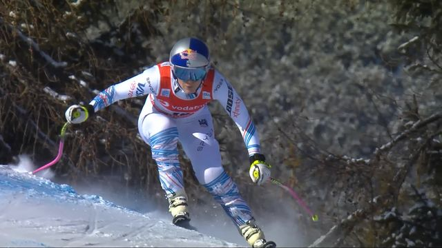 Cortina d'Ampezzo (ITA), descente dames: le retour à la compétition de Lindsey Vonn (USA) [RTS]