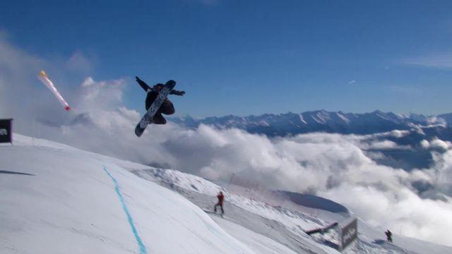 Laax (SUI), snowboard slopestyle messieurs: Moritz Thoenen (SUI) passe en finale avec le second meilleur run [RTS]