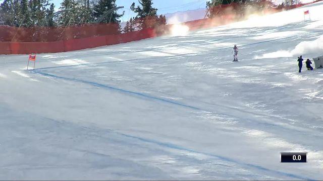 Cortina d'Ampezzo (ITA), descente dames: Priska Nufer (SUI) [RTS]